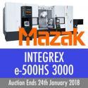 Mazak Integrex e-500 HS II x 3000 CNC Milling and Turning Centre (2007)
