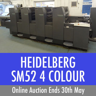 Featured Auctions from the Printing Industry and