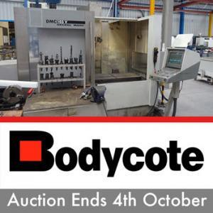 Bodycote 4th October Online Auction