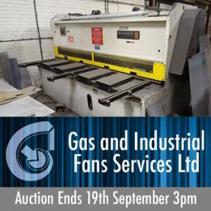 Gas & Industrial Auction