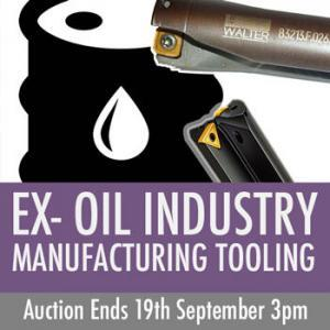 Ex Oil & Gas Industry Quality Tooling Auction