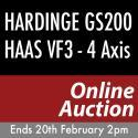Hardinge & Haas CNC Machinery Online Auction Ends 20th February 2019