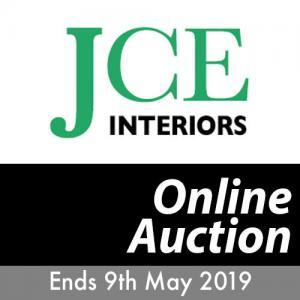 JCE Interiors Online Auction Ends 9th May