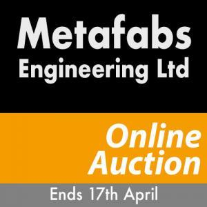 Metafabs Engineering Auction 17th-April