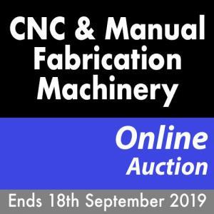 Midlands Fabrication Auction Ends 18th September 2019