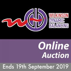 WDB Online Auction Ends on the 19th September 2019