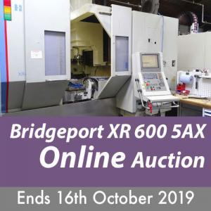 Bridgeport XR 600 5 AX Auction Ends 16th October
