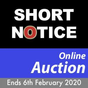Short Notice Manufacturing and Fabrication Machinery and Plant Auction
