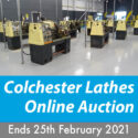 12 x Colchester Master and Student Straight and Gapbed Lathes Online Auction Ends 25th February