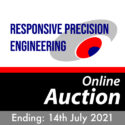 Responsive Precision Engineering Company Online Auction Ends July 14th 2021